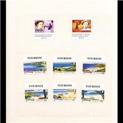 Jersey Mint Margin Single Album Page 8 Pcs (STM-0677)