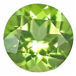 2mm Diamond Cut Top AAA Green Sapphire Nigeria (GMR-0319)