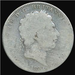 1820 Britain George III Crown Circulated (COI-7075)