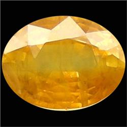1.89ct Natural Yellow Thailand Sapphire Oval   (GEM-23739)