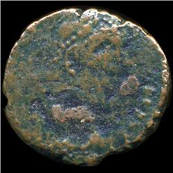 351AD Roman Coin Constantius Gallus Fallen Horseman Better Grade Bronze (COI-5917)