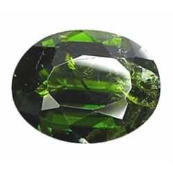 4.51ct Natural Russian Top Green Chrome Diopside   (GEM-22786)