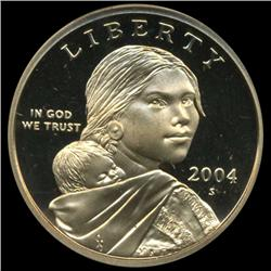 2004S Sacagawea Dollar Graded ICG PR70 DCAM First Day Issue (COI-6381)