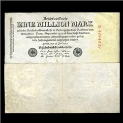1923 Germany1000000 Mark Note Hi Grade Rare (CUR-05676)