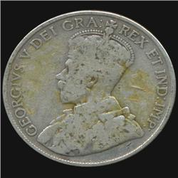 1918 Canada Half Dollar Hi Grade (COI-7017)