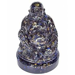 930.00ct. Nice Happy Buddha Statue Blue Sapphire (GEM-4902)