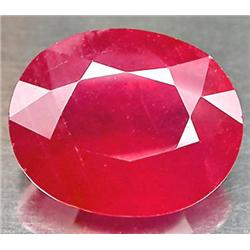 1.1ct Charming 7X5mm Top Blood Red Ruby  (GMR-0280)