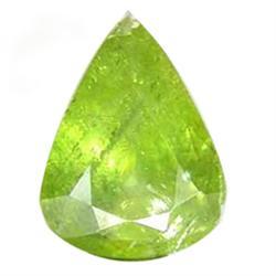 2.00ct Dazzling Natural Pear Pakistan Green Sphene (GEM-25058)