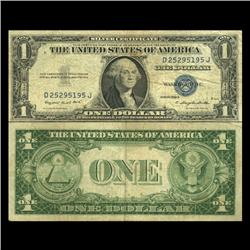 1935G $1 Silver Certificate Nice Condition SCARCE (CUR-06017)