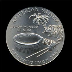 2009P American Samoa Quarter NGC Graded Super Gem MS69 SMS (COI-5891)