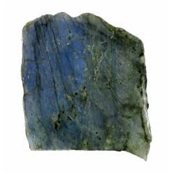 215ct Gem Grade Labradorite Polished Slab Neon Peacock Colors (GEM-21137)