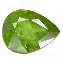 1.80ct Beautiful Natural Nice Pear Green Sphene (GEM-24904)