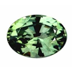 4mm Rare Top Green Sapphire Oval (GMR-0934)