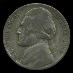 1944P/D/S Jefferson Silver WAR Nickel Set (COI-4984)