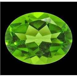 2.91 ct Natural Lustrous Oval Green Peridot (GMR-1059)