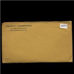 1957 RARE Unopened Envelope Proof Set  (COI-2757)