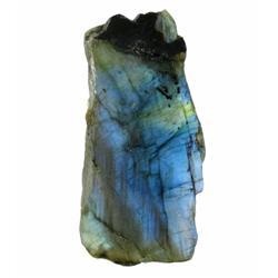 235ct Gem Grade Labradorite Polished Slab Neon Peacock Colors (GEM-21144)