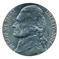 2004D Peace Jefferson Nickel Graded MS68 (COI-4394)