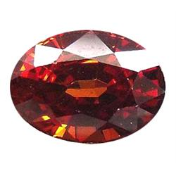 1.27ct Natural Blazing Top Orange Spessartite Garnet  VVS Appraisal Estimate $762 (GEM-18818)