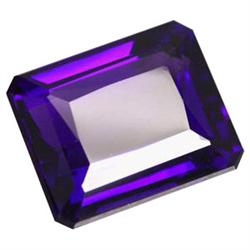 20.20ct Exquisitely Purple Emerald Cut Amethyst Appraisal Estimate $4040 (GEM-23131)