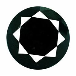 5.17ct AAA Deep Black Natural Diamond  (GEM-19746)