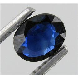 0.69ct Unheated Natural Blue Sapphire Gem (GEM-19150)