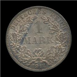 1914A Germany Mark Coin BU PROOF (COI-1768)