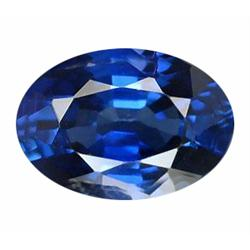 4mm Gorgeous Real Top Blue Sapphire Oval (GMR-0578)