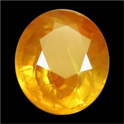 1.53ct Oval Golden Yellow Sapphire VS (GEM-19127)