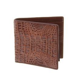Mens Crocodile Hide Skin Wallet (ACT-050)