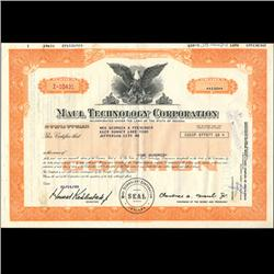 1980s Maul Technology Stock Certificate Scarce (COI-3427)