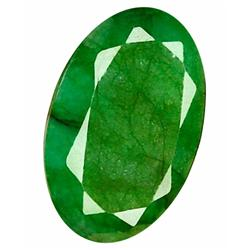 22.36ct. Excellent Oval Cut S. American Emerald (GEM-24082)