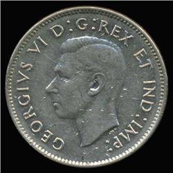 1938 Canada 5c Hi Grade AU Scarce (COI-6717)