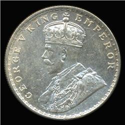 1919B India Silver Rupee High Grade (COI-6653)