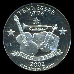 2002S Tennessee Quarter Graded PR70 DCAM (COI-5445)