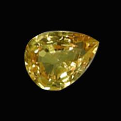 .3ct Orange Yellow Sapphire Pear (GMR-1006)