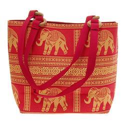 Thai Silk Hand Crafted Elephant Handbag (ACT-225)