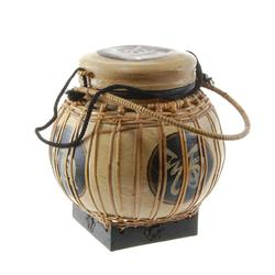 Hand Decorated Rice Container  (DEC-166)