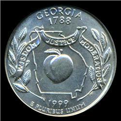 1999D Georgia Quarter ICG MS67 (COI-5409)