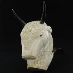 New Meerschaum Pipe Bone Horn Mouthpiece (ANT-847)
