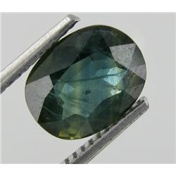 2.30ct Winsomeness Natural Oval Green Sapphire Gem (GEM-19727)