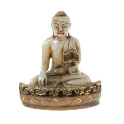 Hand Carved Marble Buddha (CLB-061)