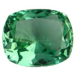 10.0ct Cushion Shape Green Afghanistan Kunzite Appraisal Estimate $2500 (GEM-25906)