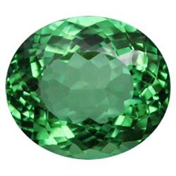 17.58ct Vivacious Oval Green Amethyst Appraisal Estimate $3516 (GEM-23029)