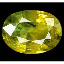 1.84ct Wonderful Natural Greenish Yellow Sapphire (GEM-22912)
