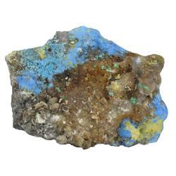 475ct VERY RARE Cyanotrichite Crystal Cluster (GEM-20413)