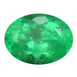 .3ct Dazzling Real Top Green Colombian Emerald 6X4Mm (GMR-0543)