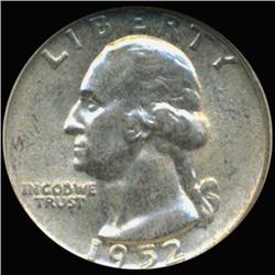 1952 Washington 25c Silver Quarter Coin Graded GEM (COI-6825)