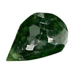.25ct Green Chrome Tourmaline Briolette (GMR-0525)