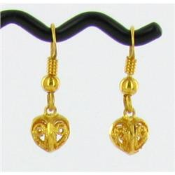 22k Gold Vermeil Earrings (JEW-1603)
